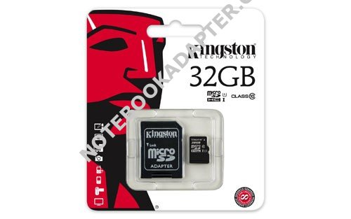 paměťová karta Kingston microSDHC 32GB class 10 (blistr)